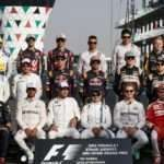 Drivers on the grid for the group photo at Formula One World Championship, Rd21, Abu Dhabi Grand Prix, Race, Yas Marina Circuit, Abu Dhabi, UAE, Sunday 27 November 2016. © Sutton Images