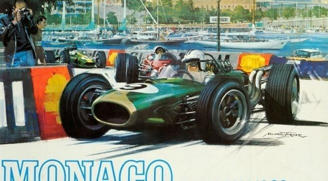 F1 Monaco Grand Prix Posters Completely All