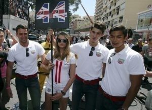 British model Cara Delevingne & Gid Boys