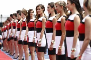 Grid Girls, Circuit Gilles Villeneuve, Montreal