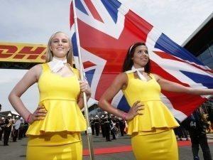 Grid Girls, Silverstone Circuit, Silverstone