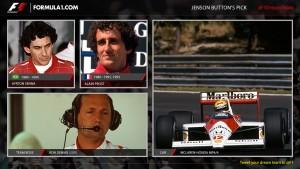 Jenson Button's F1 Dream Team