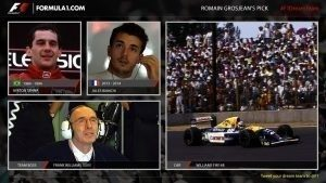 Romain Grosjean's F1 Dream Team