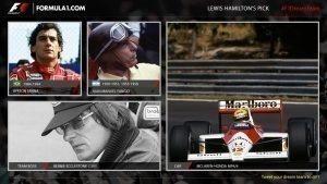 Lewis Hamilton's F1 Dream Team