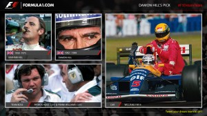 Damon Hill's F1 Dream Team