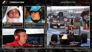 Sergio Peréz's F1 Dream Team
