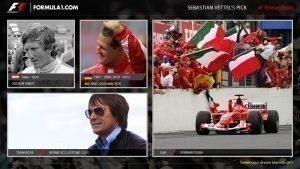 Sebastian Vettel's F1 Dream Team