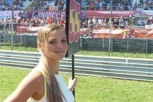 Grid Girls 2,Autodromo Nazionale di Monza, Monza, Italy / 2015 Rd.12 Italian Grand Prix