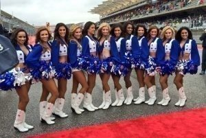 Dallascowboys Cheerleaders at Formula One World Championship, Rd16, United States Grand Prix, Austin, Texas, USA