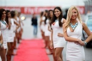 Photo-4 / Grid Girls at Formula One World Championship, Rd16, United States Grand Prix, Austin, Texas, USA