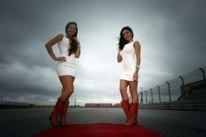 Photo-6 / Grid Girls at Formula One World Championship, Rd16, United States Grand Prix, Austin, Texas, USA