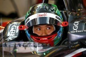 Adderly Fong (CHN), Sauber F1 Team / Pirelli tyre test, Yas Marina Circuit