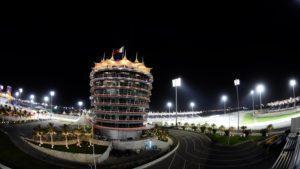 The Sakhir Tower at Formula One World Championship, Rd2, Bahrain Grand Prix Practice, Bahrain International Circuit, Sakhir, Bahrain, Friday 1 April 2016. © Sutton Motorsport Images