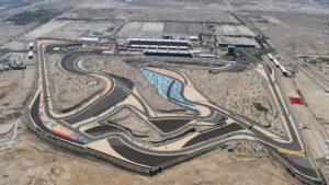 Aerial view at Formula One World Championship, Rd2, Bahrain Grand Prix Qualifying, Bahrain International Circuit, Sakhir, Bahrain, Saturday 2 April 2016. © Sutton Motorsport Images