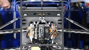 Sauber C35 chassis detail at Formula One World Championship, Rd4, Russian Grand Prix, Preparations, Sochi Autodrom, Sochi, Krasnodar Krai, Russia, Thursday 28 April 2016. © Sutton Motorsport Images