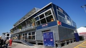 Red Bull Energy Station at Formula One World Championship, Rd5, Spanish Grand Prix, Preparations, Barcelona, Spain, Thursday 12 May 2016. © Sutton Images