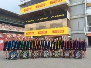 Pirelli Gridgirls, F1, Rd5, Spanish Grand Prix, Preparations, Barcelona, Spain, 2016