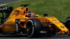 Esteban Ocon (FRA) Renault Sport F1 Team RS16 at Formula One Testing, Day One, Barcelona, Spain, 17 May 2016. © Sutton Images
