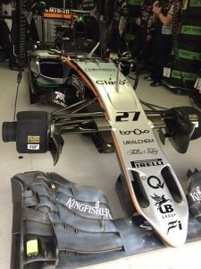 Car#27 (Nico Hülkenberg) VJM09 at Formula One World Championship, Rd6, Monaco Grand Prix, Practice, Monte-Carlo, Monaco, Thursday 26 May 2016. © Sahara Force India F1 Team