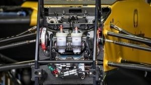 Renault Sport F1 Team RS16 chassis detail at Formula One World Championship, Rd7, Canadian Grand Prix, Preparations, Montreal, Canada, Thursday 9 June 2016. © Sutton Images