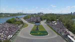 The Hairpin(L'Epingle), Circuit Gilles Villeneuve in Montreal, Quebec, Canada