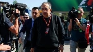 Sergio Marchionne (ITA) CEO FIAT at Formula One World Championship, Rd5, Spanish Grand Prix, Race, Barcelona, Spain, Sunday 15 May 2016. © Sutton Images