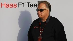 Gene Haas (USA) Founder and Chairman, Haas F1 Team at Formula One Testing, Day Four, Barcelona, Spain, Thursday 25 February 2016. © Sutton Motorsport Images