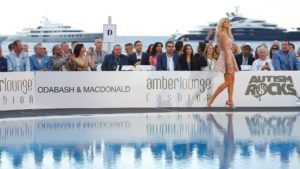 Victoria Silvstedt at Amber Lounge Fashion Show, Le Meridien Beach Plaza, Monte Carlo, Monaco, 22 May 2015. © Sutton Motorsport Images