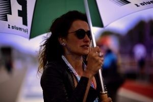 Actress Penelope Cruz (Esp) at Formula One World Championship, Rd7, Canadian Grand Prix, Race, Montreal, Canada, Sunday 12 June 2016. © FOWC Ltd
