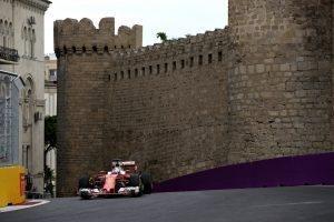 Ferrari SF16-H at Formula One World Championship, Rd8, European Grand Prix, Practice 2, Baku City Circuit, Baku, Azerbaijan, Friday 17 June 2016.