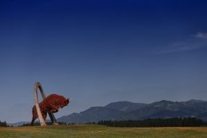 Huge Monument of Red Bull at Red Bull Ring, Spielberg / Austrian Grand Prix, 1-3 July, 2016 Rd.9