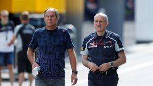 Gerhard Berger (AUT) and Franz Tost (AUT) Scuderia Toro Rosso Team Principal at Formula One World Championship, Rd9, Austrian Grand Prix, Preparations, Spielberg, Austria, Thursday 30 June 2016. © Sutton Images