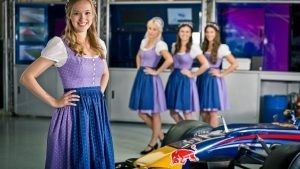 Girls at Formula One World Championship, Rd9, Austrian Grand Prix, Preparations, Spielberg, Austria, Thursday 30 June 2016. © @redbullracing