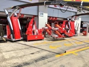 Ferrari SF16-H nose and front wings at Formula One World Championship, Rd9, Austrian Grand Prix, Preparations, Spielberg, Austria, Thursday 30 June 2016. © @ScuderiaFerrari