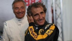 Alain Prost (FRA) at the Legends Parade at Formula One World Championship, Rd8, Austrian Grand Prix, Qualifying, Spielberg, Austria, Saturday 20 June 2015. © Sutton Motorsport Images