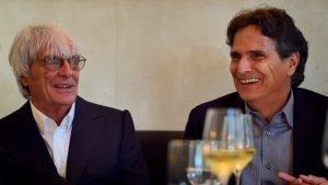 Bernie Ecclestone with Nelson Piquet © Mario Renzi