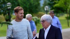 Sebastian Vettel with Bernie Ecclestone © Mario Renzi