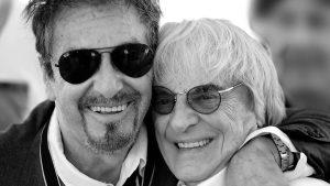 Al Pacino with Bernie Ecclestone, Montreal, June 7, 2015 © Mario Renzi