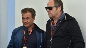 Jean Alesi (FRA) and Gerhard Berger (AUT) Former F1 driver at Formula One World Championship, Rd7, Canadian Grand Prix, Qualifying, Montreal, Canada, Saturday 6 June 2015. © Sutton Motorsport Images