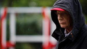 Niki Lauda (AUT) Mercedes AMG F1 Non-Executive Chairman at Formula One World Championship, Rd3, Chinese Grand Prix, Qualifying, Shanghai, China, Saturday 16 April 2016. © Sutton Motorsport Images