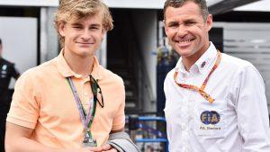Tom Kristensen (DEN) FIA Steward with his son at Formula One World Championship, Rd6, Monaco Grand Prix Qualifying, Monte-Carlo, Monaco, Saturday 23 May 2015. © Sutton Motorsport Images