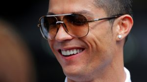 Cristiano Ronaldo (POR) at Formula One World Championship, Rd6, Monaco Grand Prix Race, Monte-Carlo, Monaco, Sunday 24 May 2015. © Sutton Motorsport Images