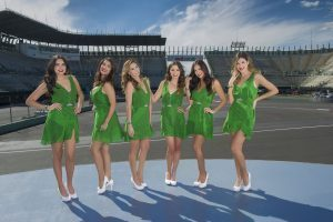 Grid girls at Formula One World Championship, Rd19, Mexican Grand Prix, Circuit Hermanos Rodriguez, Mexico City, Mexico, October 2016. © Mexico Grand Prix