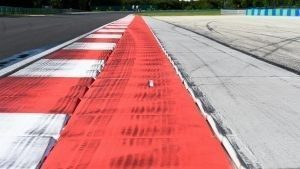 Kerbs with sensors to monitor track limits at Formula One World Championship, Rd11, Preparations, Hungaroring, Hungary, Thursday 21 July 2016. © Sutton Images