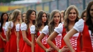 Grid girls at Formula One World Championship, Rd11, Hungarian Grand Prix, Race, Hungaroring, Hungary, Sunday 24 July 2016. © Sutton Images