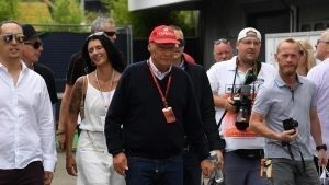 Niki Lauda (AUT) Mercedes AMG F1 Non-Executive Chairman at Formula One World Championship, Rd12, German Grand Prix, Race, Hockenheim, Germany, Sunday 31 July 2016. © Sutton Images