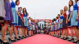 Girls at Formula One World Championship, Rd9, Austrian Grand Prix, Preparations, Spielberg, Austria, 2016. © @redbullracing