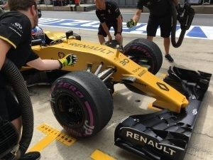 Renault Sport F1 Team RS16 at Formula One World Championship, Rd9, Austrian Grand Prix, Preparations, Spielberg, Austria, Friday 1 July 2016. © RenaultSportF1