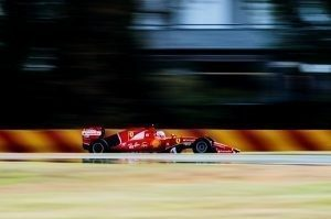 Slick pic-3 / FIRST TEST WITH SCUDERIA FERRARI: SEBASTIAN VETTEL TESTS AT FIORANO THE WIDER WET TYRES FOR NEXT SEASON © 2016 Pirelli & C. S.p.A