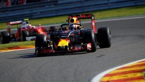Daniel Ricciardo (AUS) Red Bull Racing RB12 with Halo at Formula One World Championship, Rd13, Belgian Grand Prix, Practice, Spa Francorchamps, Belgium, Friday 26 August 2016. © Sutton Images